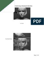 Glitch Art and Digital Ontology
