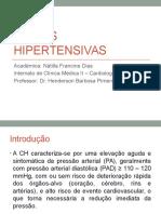Crises Hipertensivas