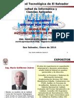 Presentacion UTEC Modulo IV Automatizacion de Procesos Unidad 1