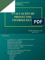 Evaluacion de Proyectos PUCV