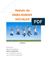 MODULO DE HH. SS