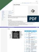 Datashet DFPlayer Mini SKU DFR0299