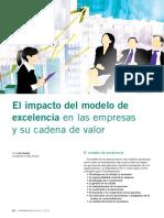 El Impacto Del Modelo de Excelencia