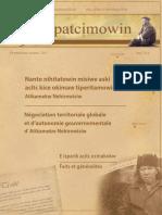 Bulletin Tipatcimowin - Négociation