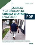 Libre Comercio y La Epidemia de Comida Chatarra en Mexico