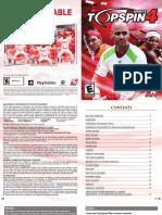 TS4 PS3 Manual