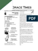 GRACE TIMES