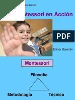 Sra Ellinor Barentin Arredondo Montessori en Acción Fundación Luz
