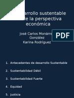El Desarrollo Sustentable Desde La Perspectiva Económica. Pptx
