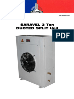 Saravel 3 Ton Ducted Split Unit
