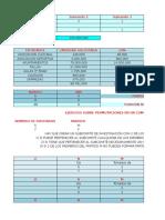 Matematicas en Excel