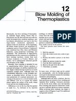 SPI Plastics Engineering Handbook - Chapter 12 - Blow Molding of Thermoplastics