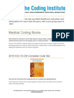 TCI Medical Coding Books