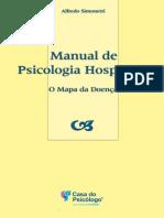 Manual de Psicologia Hospitalar - O Mapa Da Doença - Alfredo Simonetti
