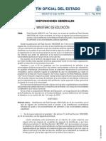 Real Decreto 558/2010, de 7 de mayo, por el que se modifica el Real Decreto 1892/2008, de 14 de noviembre, por el que se regulan las condiciones para el acceso a las enseñanzas universitarias oficiales de grado y los procedimientos de admisión a las universidades públicas españolas