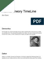 atomic theory time line - ani goni  1