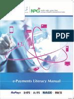 100 Payment Literacy Manual PDF 200815