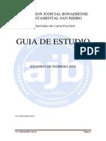 Guia de Estudios 2016