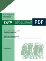 Revista Italiana DEPn30-2016-Dedicado a La Megamineria y Las Mujeres