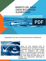 saneamiento del agua y procesos biológicos