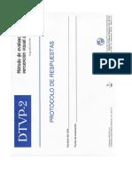 141044548 Test Frostig II Protocolo de Respuestas