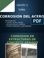 Corrosión de Acero de Refuerzo en El Concreto