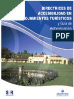 Directrices de accesibilidad en Alojamientos Turisticos