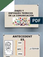 Abordajes y Enfoques Teóricos de La Comunicación