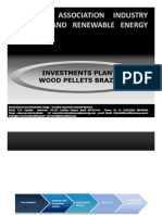 Investments Unit Industrial Wood Pellets Brazil Biomass Wood Pellets