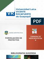 Presentación Formulación de Proyecto 2016