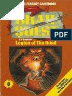 Grailquest 08 - Legion of the Dead