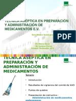 Preparacion y Administracion EV