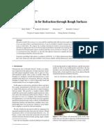 EGSR07-btdf Microfacet models for refraction