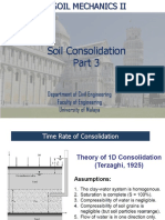 Soil Consolidation 3