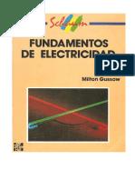Fundamentos de Electricidad -Schaunm Gussow, Milton.pdf