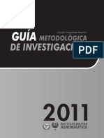 Guía Metodológica de Investigación.