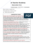 danielle douglas - observation form 1