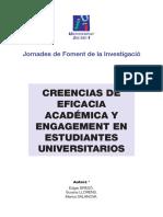Creencias de Eficacia Académica y Engagement en Estudiantes Universitarios