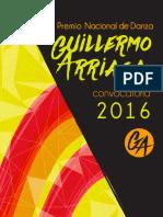 """PREMIO NACIONAL DE DANZA """"GUILLERMO ARRIAGA"""", XXXV Concurso de Creación Coreográfica Contemporánea INBA-UAM"""