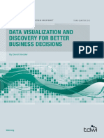 Data Visualization and Discovery for Better Business Decisions