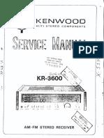 Kenwood Receiver KR-3600-3060 (1)