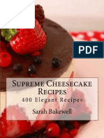 Supreme Cheesecake Recipes - Sarah Bakewell