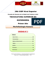 Morfofisiologia Humana- CD 1