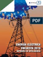 Informe Energia Electrica 2016