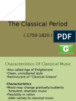 The Classical Period Official