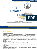 In-security Related Fact