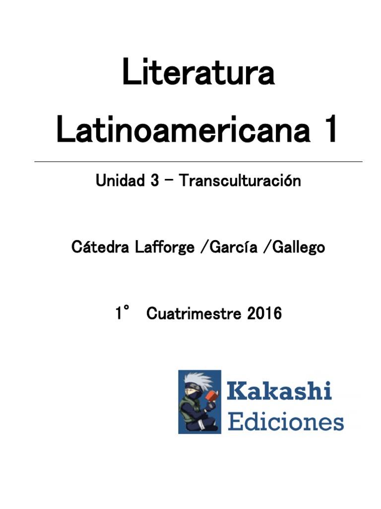 Literatura Latinoamericana Unidad 1 y 2 4a5474f4cc0c