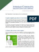Guía Completa Para Hacer El Curriculum Perfecto - Universidad Corporativa Fundacióbn Lenguaje Corporal