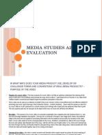 A2 Coursework Evaluation