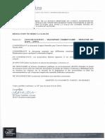 RÉSOLUTION MRC des Maskoutains 26 Avril 2016